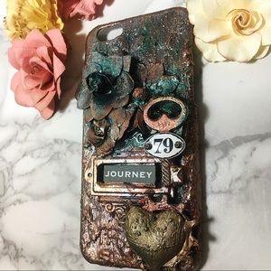 Iphone 6s mixed media art case